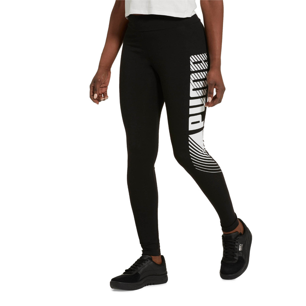 Image Puma Essentials+ Graphic Women's Leggings #2