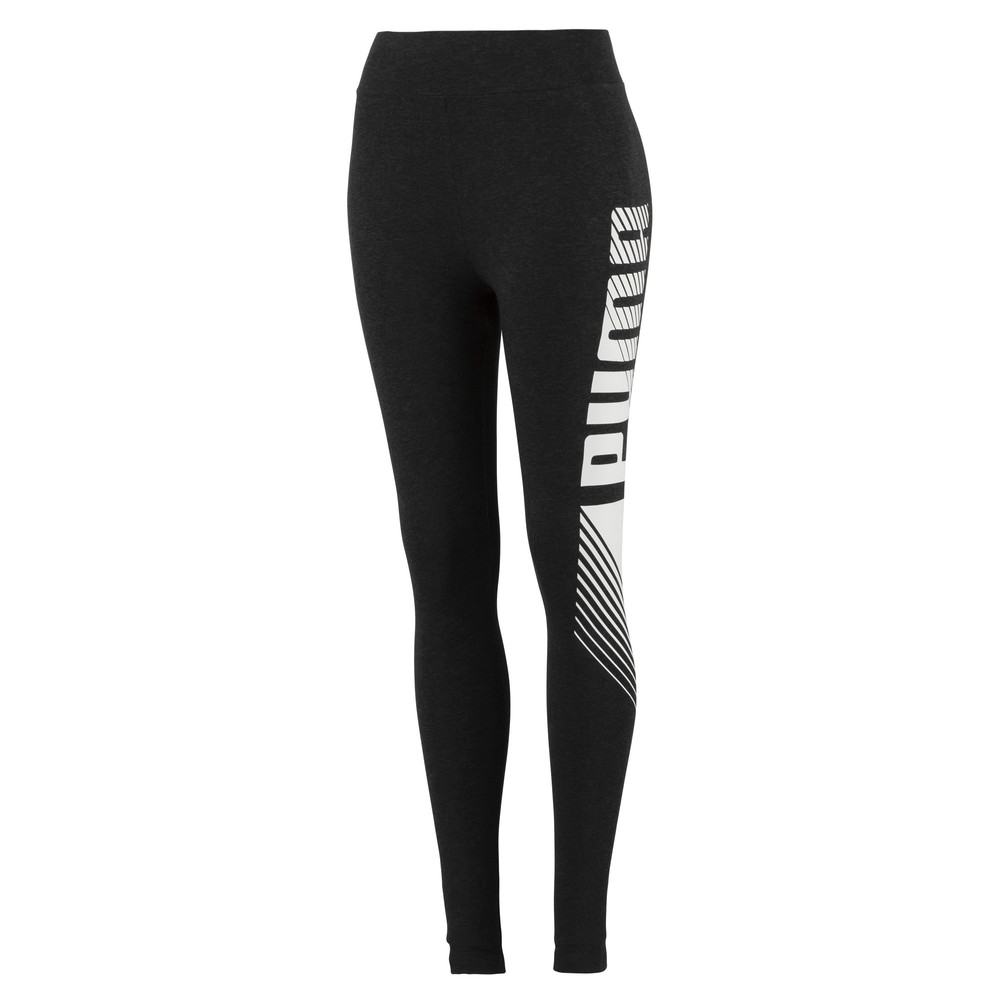 Изображение Puma Леггинсы Essential Graphic Leggings #1