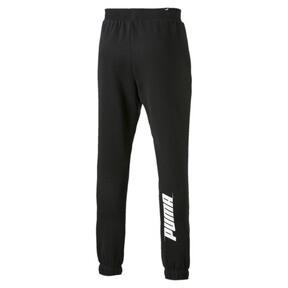 Thumbnail 5 van Rebeld Bold sweatpants voor mannen, Cotton Black, medium