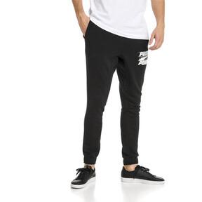 Thumbnail 1 van Rebeld Bold sweatpants voor mannen, Cotton Black, medium