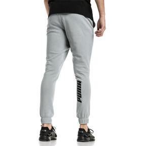Thumbnail 2 van Rebeld Bold sweatpants voor mannen, Kalksteengrijs, medium