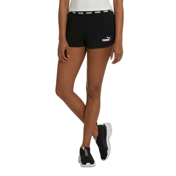Amplified Women's Shorts, Cotton Black, large