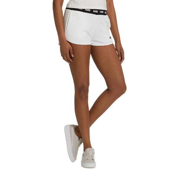 Amplified Women's Shorts, Puma White, large
