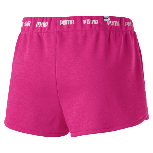 Amplified Women's Shorts, Fuchsia Purple, large