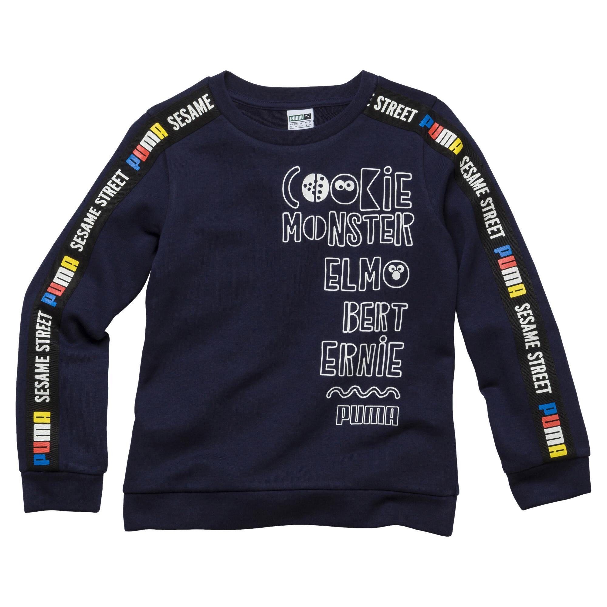 Image Puma PUMA x SESAME STREET Boy's Crewneck Sweatshirt INF #1