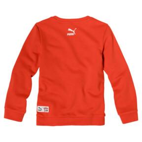 Thumbnail 2 of PUMA x SESAME STREET Boy's Crewneck Sweatshirt, Cherry Tomato, medium