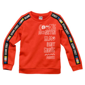 PUMA x SESAME STREET Boy's Crewneck Sweatshirt