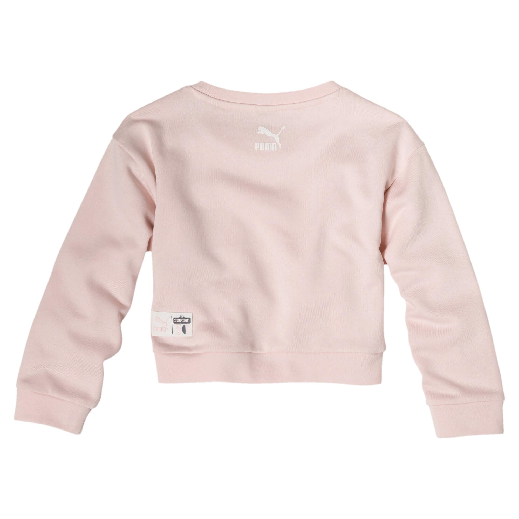 Image Puma PUMA x SESAME STREET Girl's Crewneck Sweatshirt INF #2