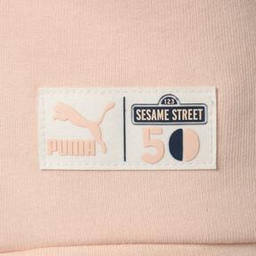 Thumbnail 7 of キッズ PUMA x SESAME STREET ガールズ クルースウェット, Veiled Rose, medium-JPN