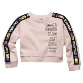 PUMA x SESAME STREET Girl's Crewneck Sweatshirt