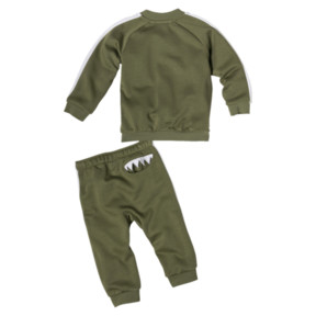 Thumbnail 2 of Babies' Monsters Track Suit, Olivine, medium