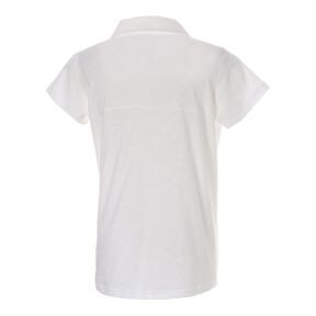 Thumbnail 3 of ESS+ ウィメンズ オープンポロシャツ 半袖, Puma White, medium-JPN