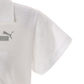 Thumbnail 5 of ESS+ ウィメンズ オープンポロシャツ 半袖, Puma White, medium-JPN