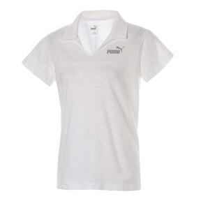 ESS+ ウィメンズ オープンポロシャツ (半袖)