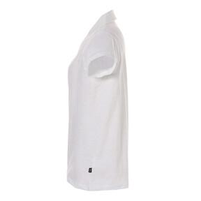 Thumbnail 2 of ESS+ ウィメンズ オープンポロシャツ 半袖, Puma White, medium-JPN