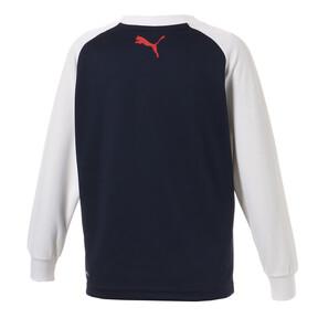 Thumbnail 2 of キッズ ACTIVE LS Tシャツ (長袖), Peacoat, medium-JPN
