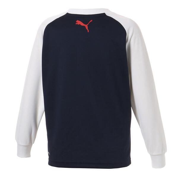 キッズ ACTIVE LS Tシャツ (長袖), Peacoat, large-JPN