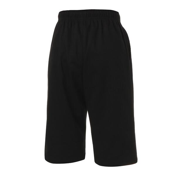 キッズ ツイル カプリパンツ, Cotton Black, large-JPN