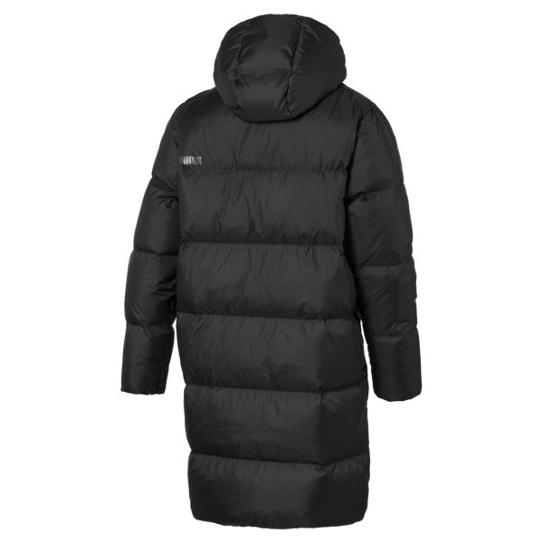 Longline Men's Down Jacket, Puma Black, large