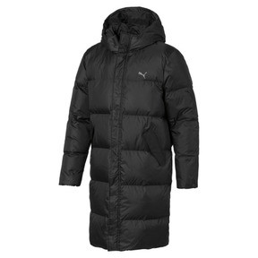 Thumbnail 1 of Longline Men's Down Jacket, Puma Black, medium