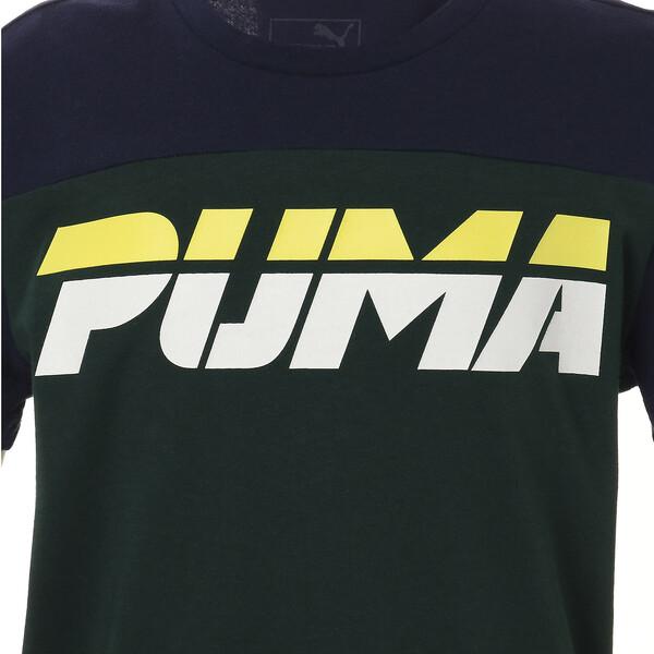 キッズ ALPHA SS トレンド Tシャツ (半袖), Ponderosa Pine, large-JPN