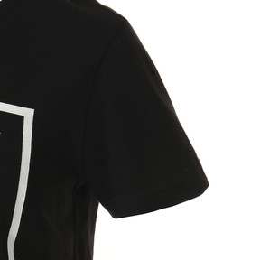 Thumbnail 5 of キッズ ALPHA SS グラフィック Tシャツ 半袖, Cotton Black, medium-JPN