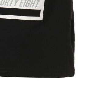 Thumbnail 6 of キッズ ALPHA SS グラフィック Tシャツ 半袖, Cotton Black, medium-JPN