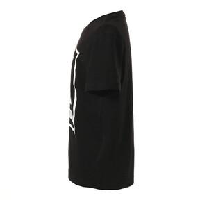 Thumbnail 3 of キッズ ALPHA SS グラフィック Tシャツ 半袖, Cotton Black, medium-JPN
