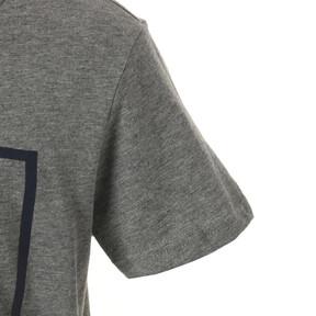 Thumbnail 4 of キッズ ALPHA SS グラフィック Tシャツ (半袖), Medium Gray Heather, medium-JPN