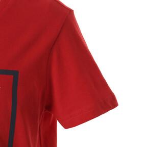Thumbnail 4 of キッズ ALPHA SS グラフィック Tシャツ (半袖), High Risk Red, medium-JPN