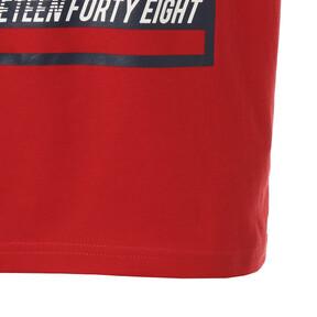 Thumbnail 5 of キッズ ALPHA SS グラフィック Tシャツ (半袖), High Risk Red, medium-JPN