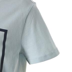Thumbnail 5 of キッズ ALPHA SS グラフィック Tシャツ 半袖, Light Sky, medium-JPN