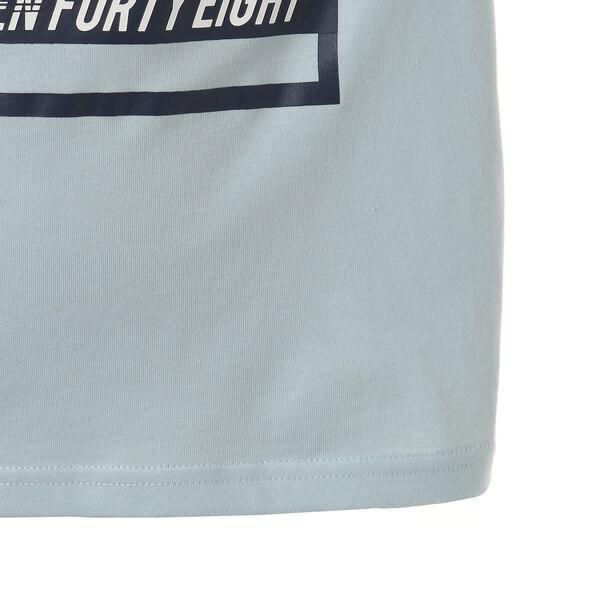 キッズ ALPHA SS グラフィック Tシャツ 半袖, Light Sky, large-JPN