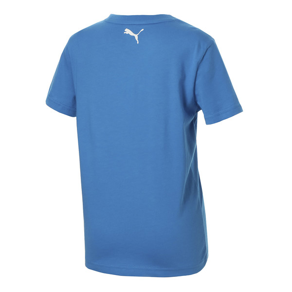 キッズ ALPHA SS グラフィック Tシャツ 半袖, Indigo Bunting, large-JPN