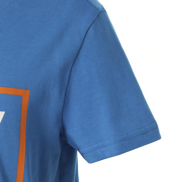 キッズ ALPHA SS グラフィック Tシャツ (半袖), Indigo Bunting, large-JPN