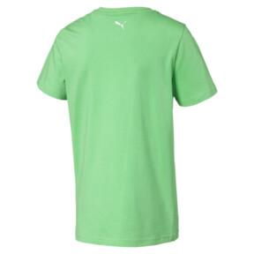 Thumbnail 2 of キッズ ALPHA SS グラフィック Tシャツ 半袖, Irish Green, medium-JPN