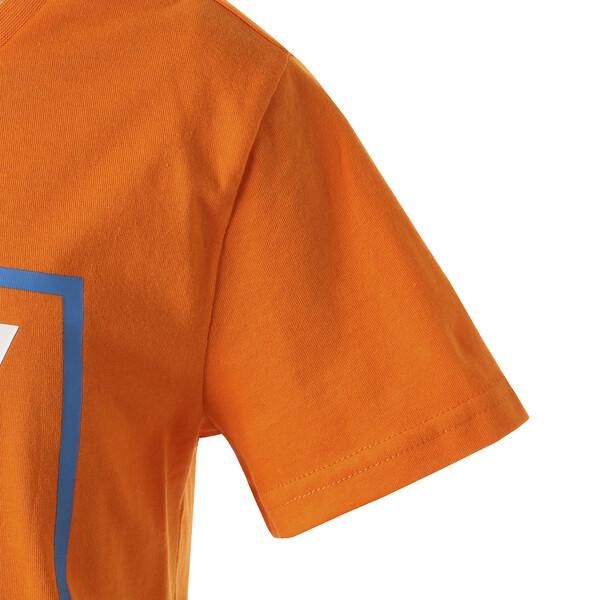 キッズ ALPHA SS グラフィック Tシャツ (半袖), Orange Popsicle, large-JPN