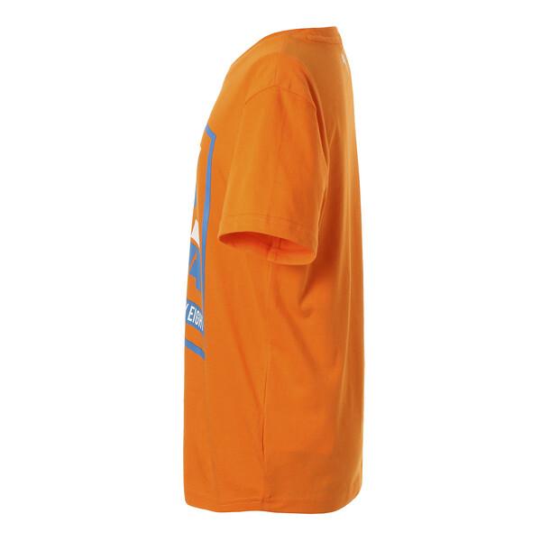キッズ ALPHA SS グラフィック Tシャツ 半袖, Orange Popsicle, large-JPN