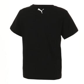 Thumbnail 3 of キッズ ALPHA SS グラフィック Tシャツ 半袖, Puma Black, medium-JPN