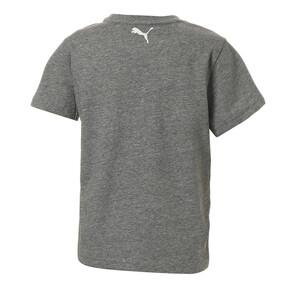 Thumbnail 2 of キッズ ALPHA SS グラフィック Tシャツ (半袖), Medium Gray Heather, medium-JPN