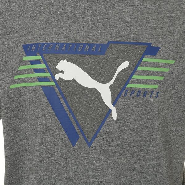 キッズ ALPHA SS グラフィック Tシャツ (半袖), Medium Gray Heather, large-JPN