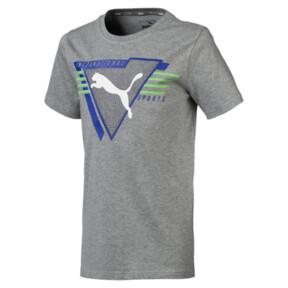 キッズ ALPHA SS グラフィック Tシャツ 半袖