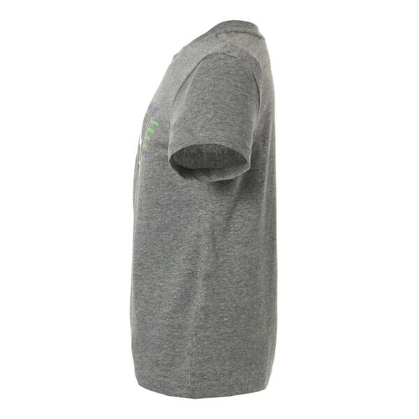 キッズ ALPHA SS グラフィック Tシャツ 半袖, Medium Gray Heather, large-JPN