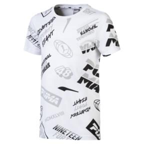 キッズ ALPHA SS AOP Tシャツ