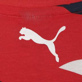 Thumbnail 3 of キッズ ALPHA SS AOP Tシャツ (半袖), High Risk Red, medium-JPN