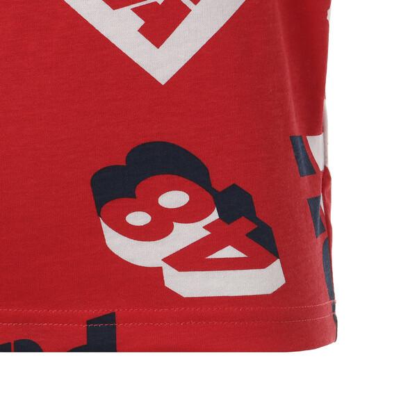 キッズ ALPHA SS AOP Tシャツ (半袖), High Risk Red, large-JPN