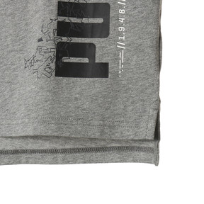 Thumbnail 6 of キッズ ACTIVE スポーツ タンク, Medium Gray Heather, medium-JPN