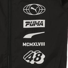 Thumbnail 8 of キッズ ALPHA ウインドブレーカー, Puma Black, medium-JPN