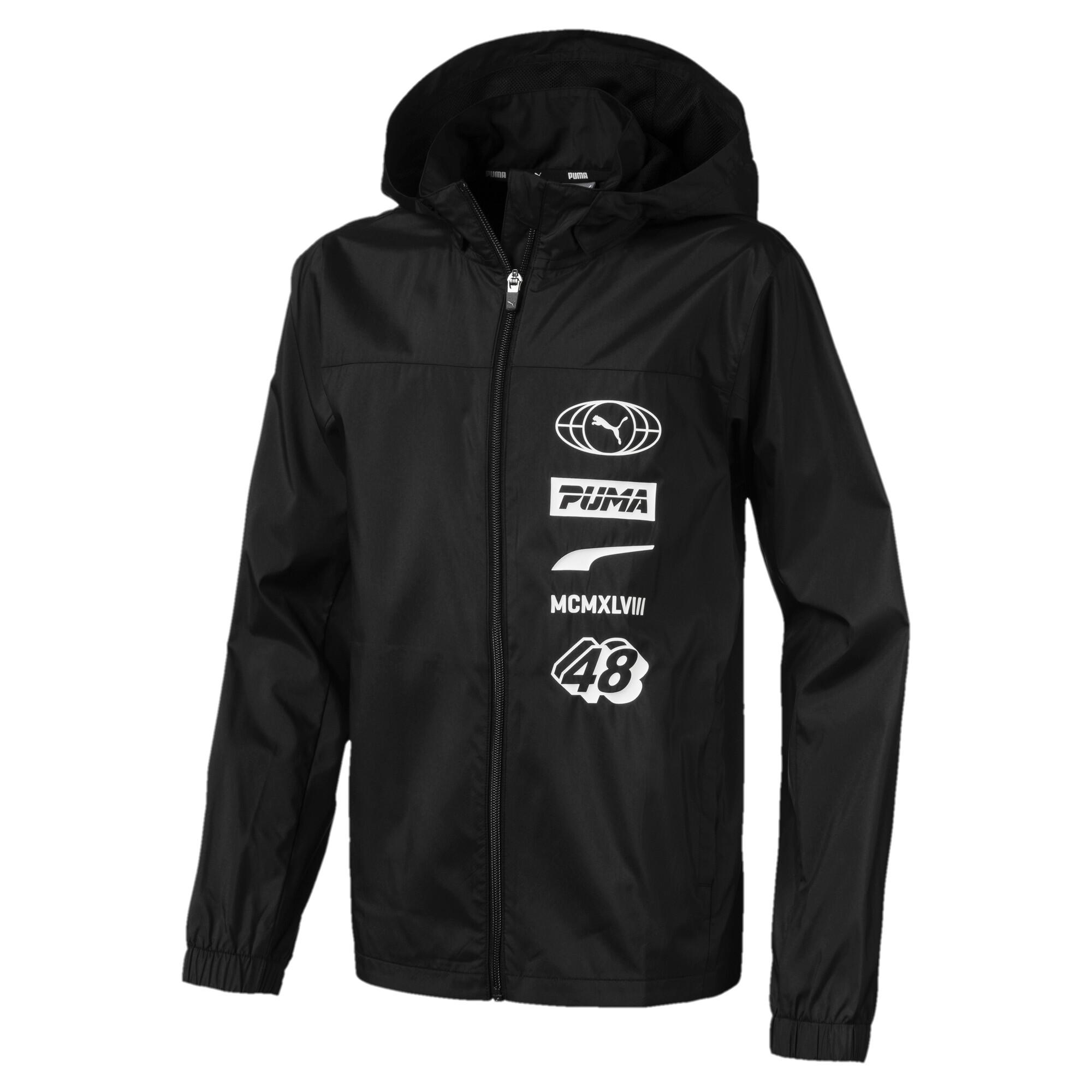 【プーマ公式通販】 プーマ キッズ ALPHA ウインドブレーカー メンズ Puma Black |PUMA.com