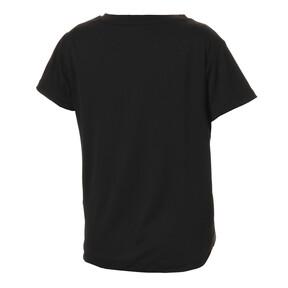 Thumbnail 2 of キッズ ACTIVE SS ポリ グラフィック Tシャツ (半袖), Puma Black, medium-JPN